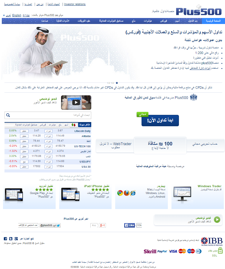 Binary options plus 500